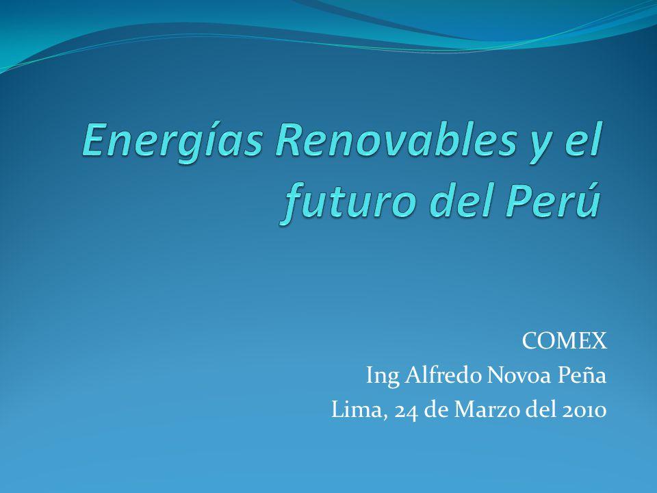 Energías Renovables y el futuro del Perú