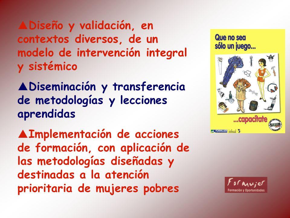 Diseño y validación, en contextos diversos, de un modelo de intervención integral y sistémico