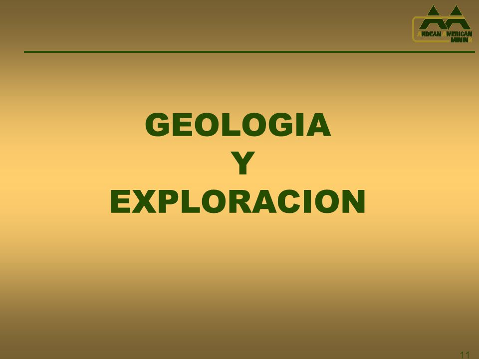 GEOLOGIA Y EXPLORACION