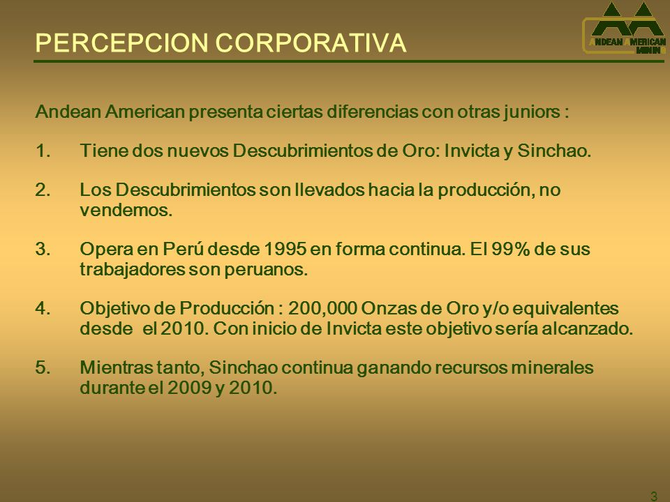 PERCEPCION CORPORATIVA