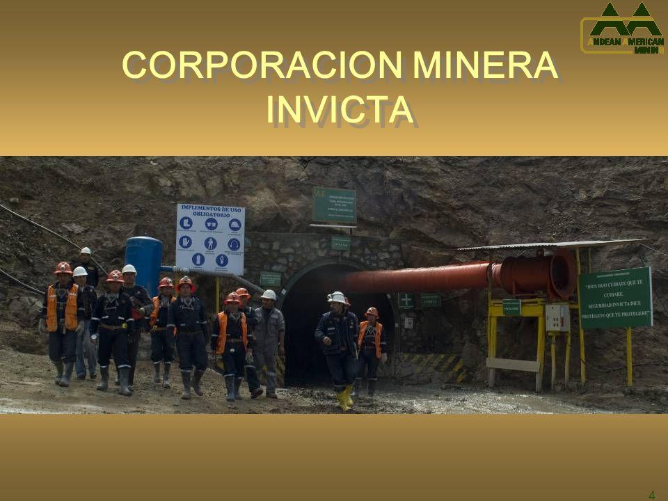 CORPORACION MINERA INVICTA