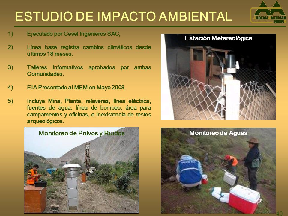 Estación Metereológica Monitoreo de Polvos y Ruidos