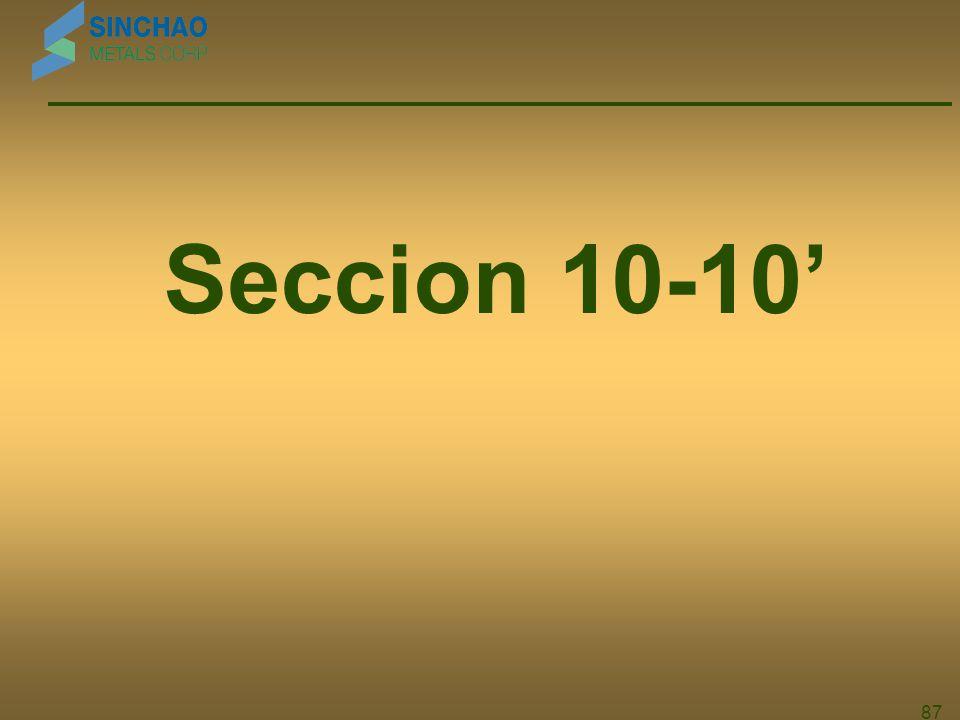 Seccion 10-10' 87