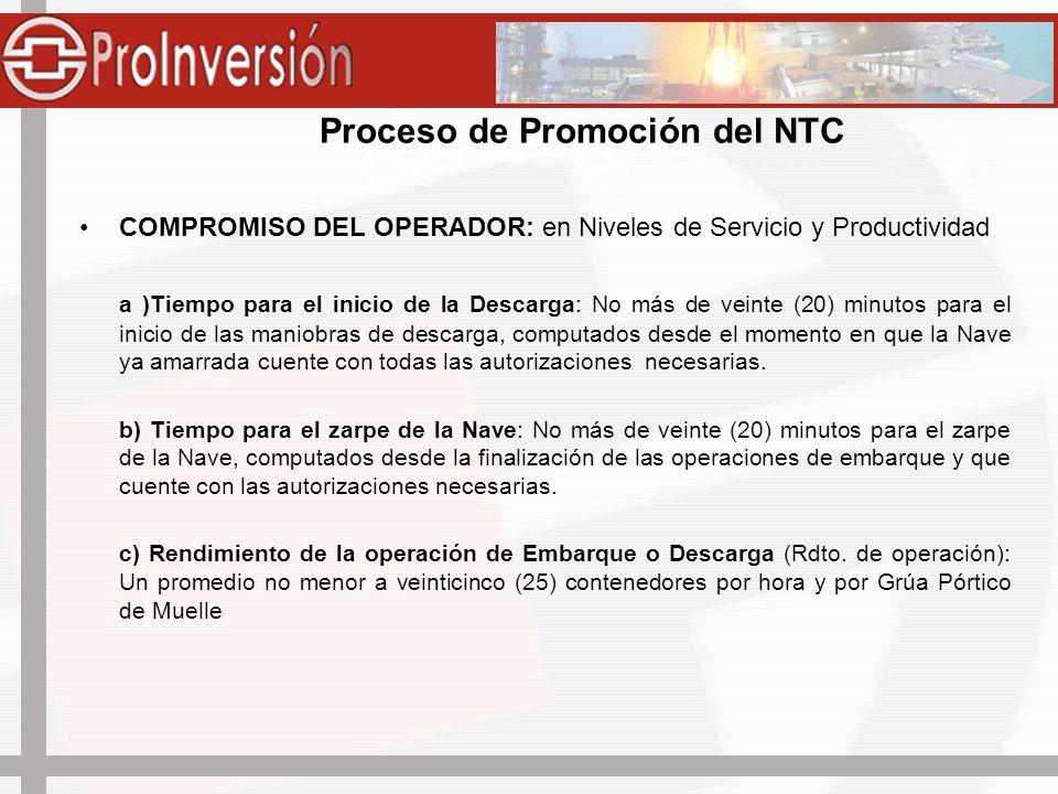 Proceso de Promoción del NTC