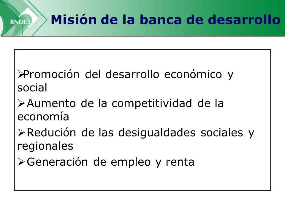 Misión de la banca de desarrollo