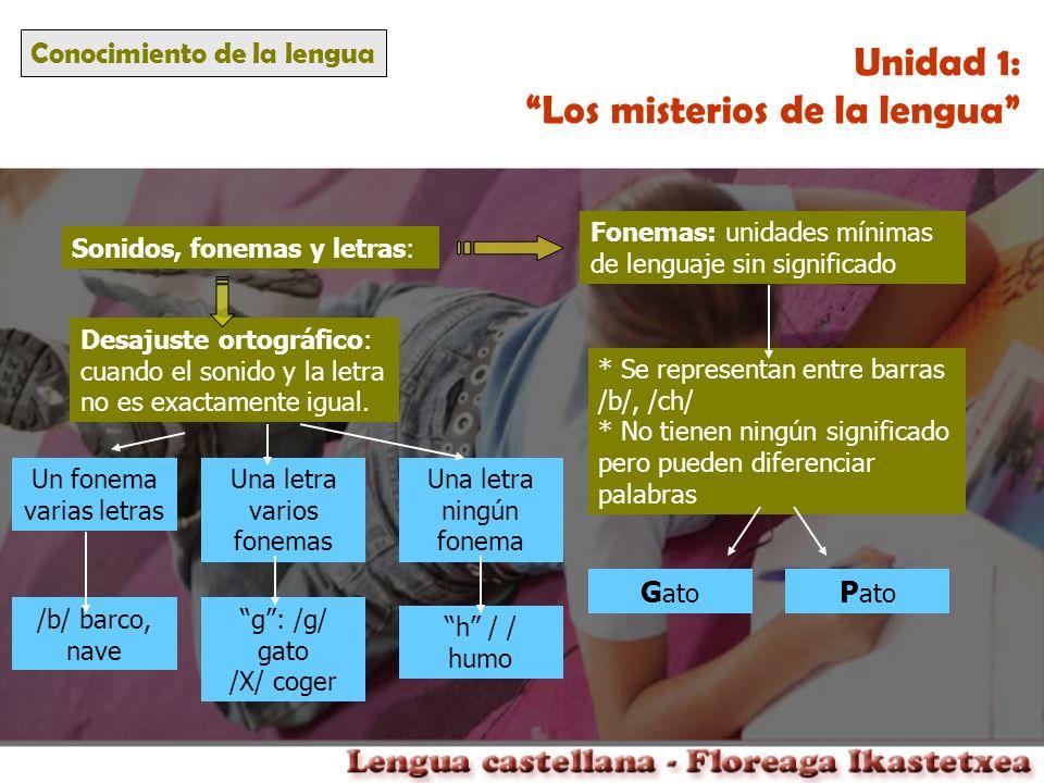 Los misterios de la lengua