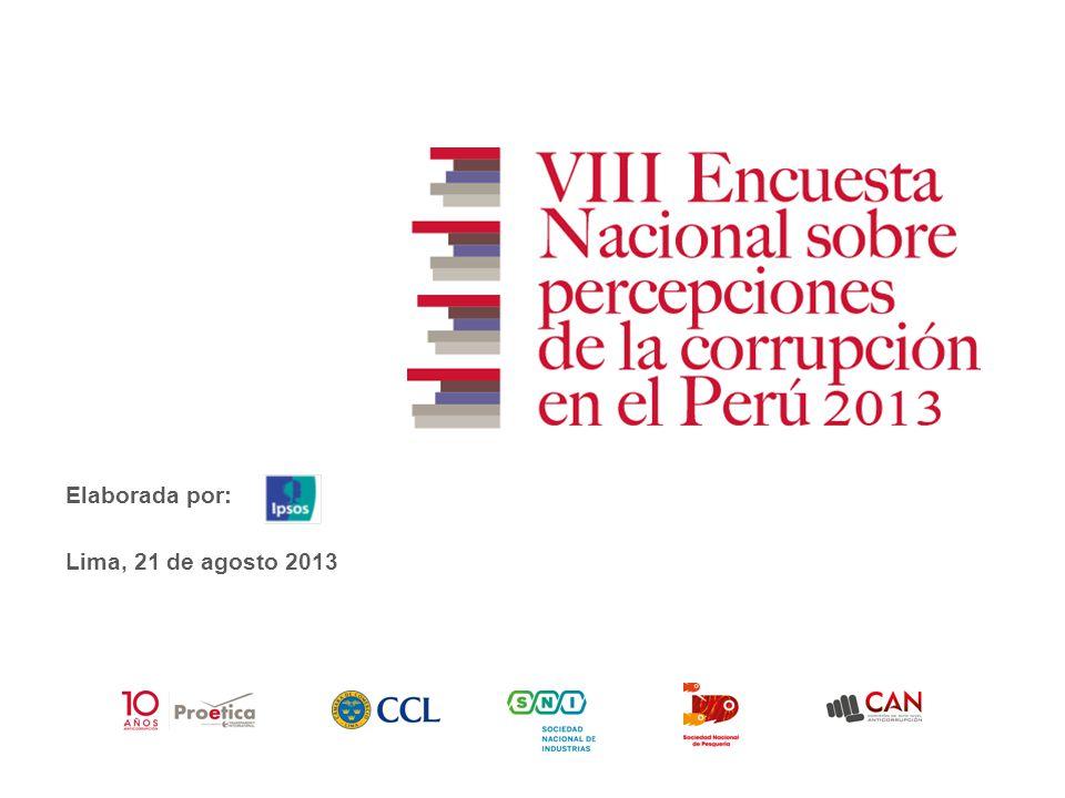 Elaborada por: Lima, 21 de agosto 2013