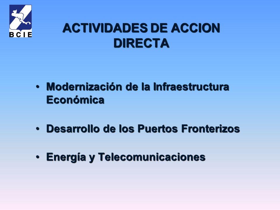 ACTIVIDADES DE ACCION DIRECTA
