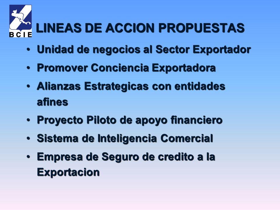 LINEAS DE ACCION PROPUESTAS