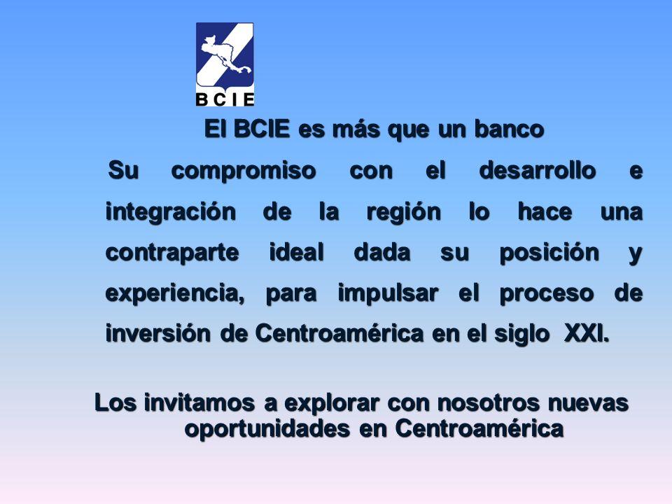 El BCIE es más que un banco