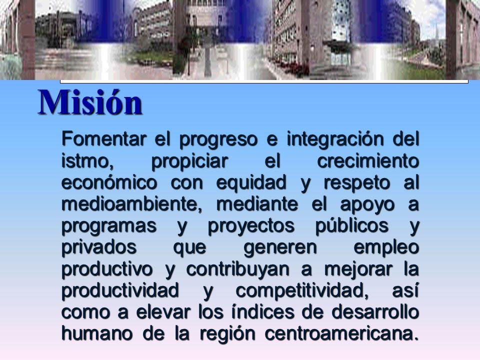 BCIE MISION Misión.