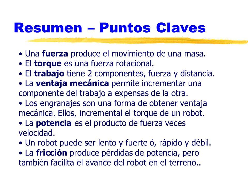 Resumen – Puntos Claves