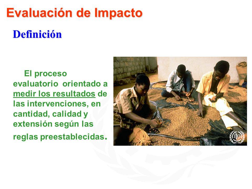 Evaluación de Impacto Definición