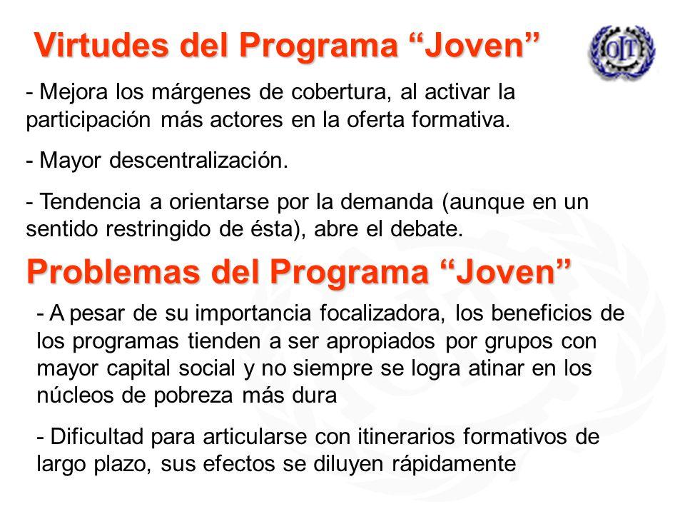 Virtudes del Programa Joven