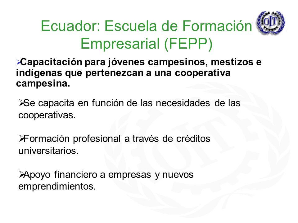 Ecuador: Escuela de Formación Empresarial (FEPP)