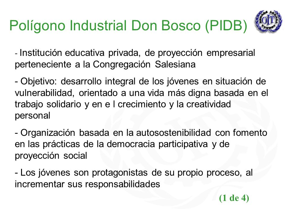 Polígono Industrial Don Bosco (PIDB)
