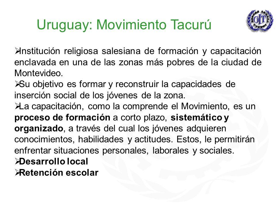 Uruguay: Movimiento Tacurú