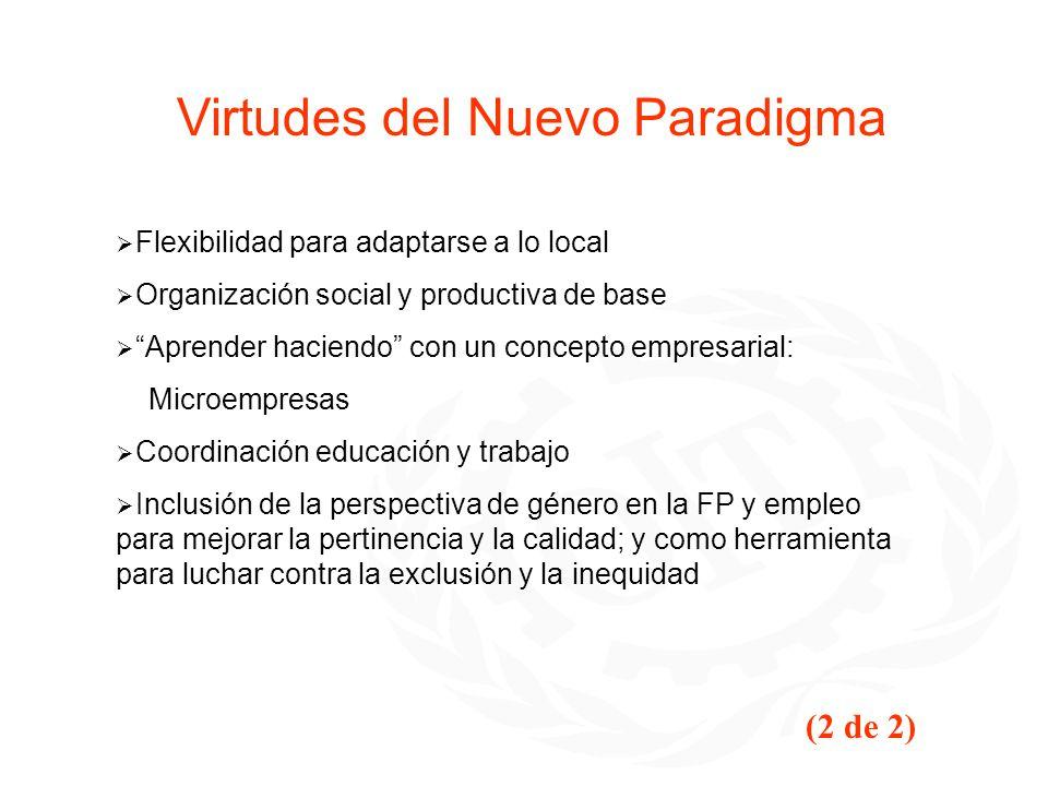 Virtudes del Nuevo Paradigma