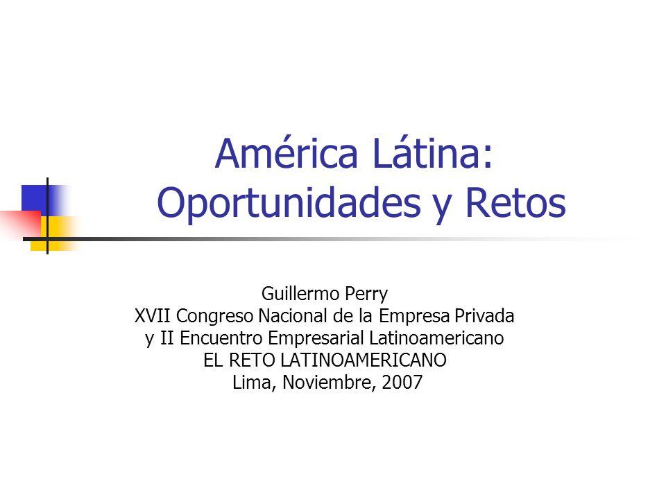 América Látina: Oportunidades y Retos