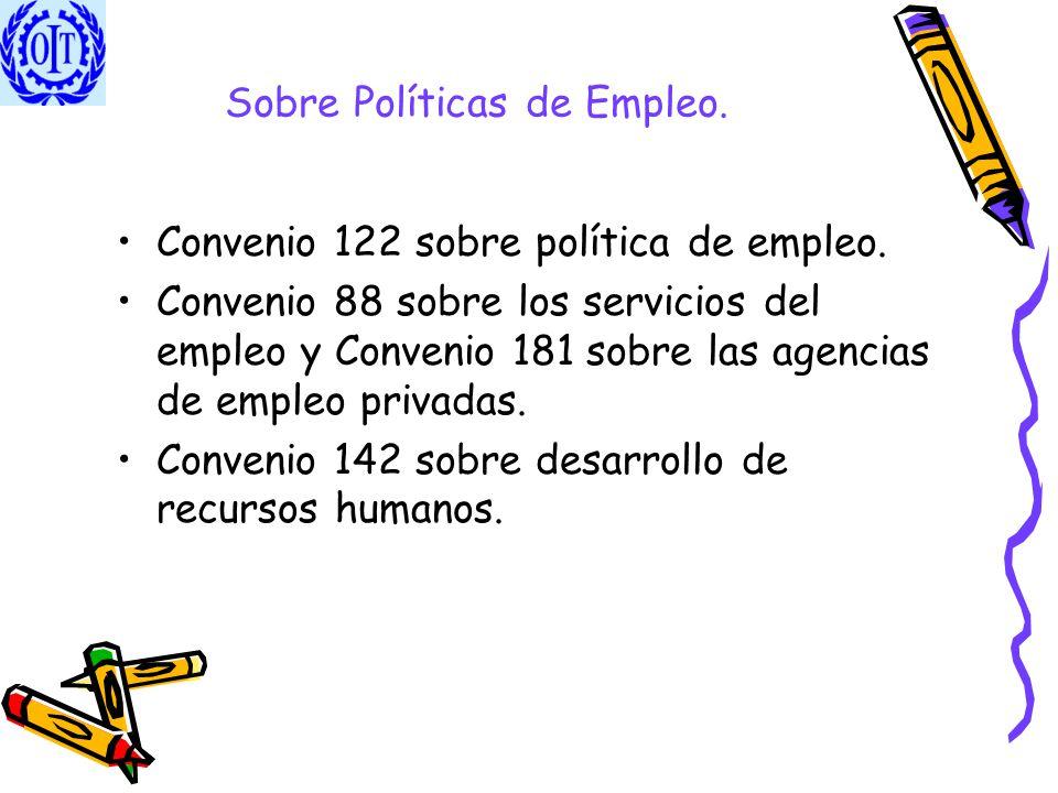 Sobre Políticas de Empleo.