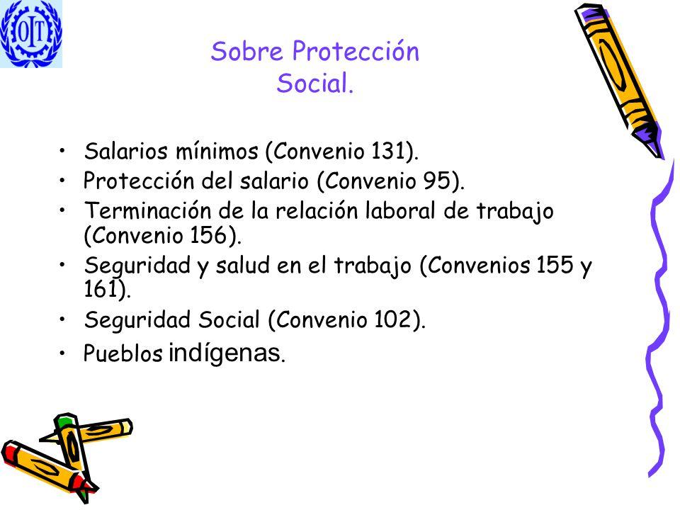 Sobre Protección Social.