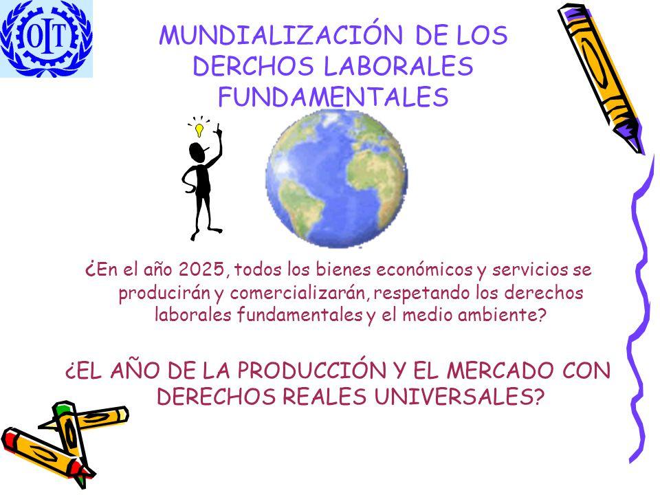 MUNDIALIZACIÓN DE LOS DERCHOS LABORALES FUNDAMENTALES