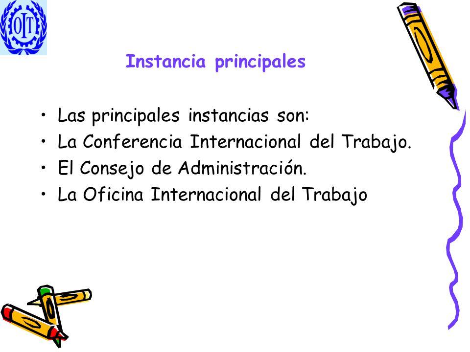 Instancia principales