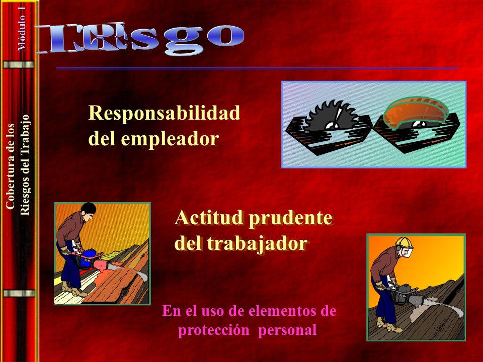 El Riesgo Responsabilidad del empleador Actitud prudente