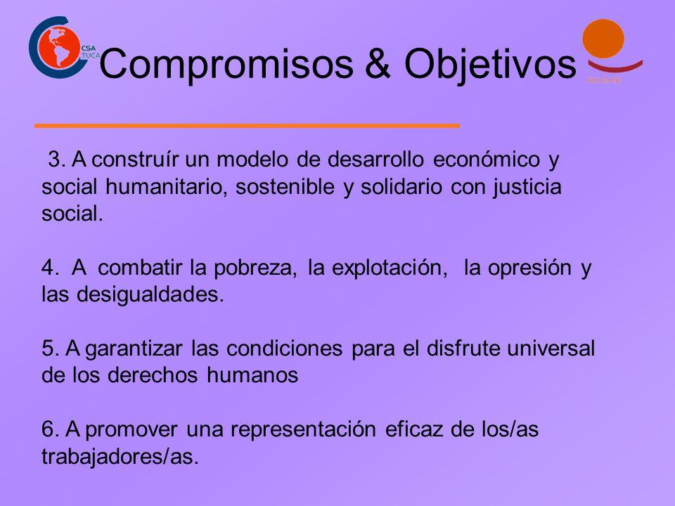 Compromisos & Objetivos