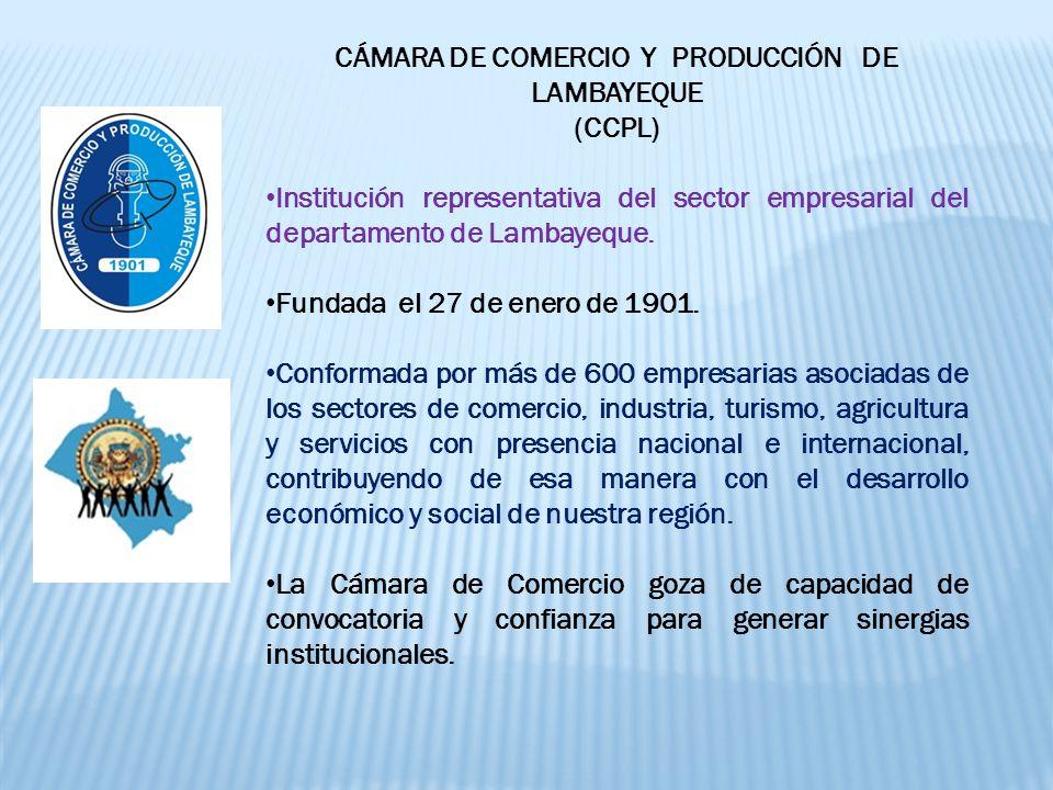 CÁMARA DE COMERCIO Y PRODUCCIÓN DE LAMBAYEQUE