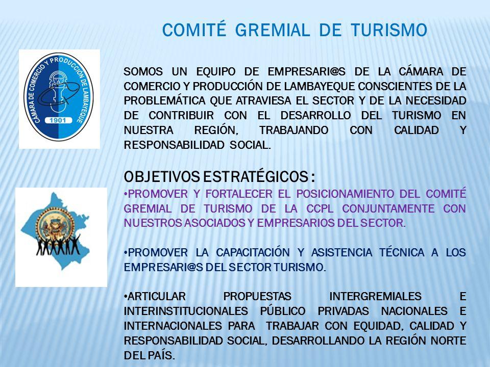 COMITÉ GREMIAL DE TURISMO