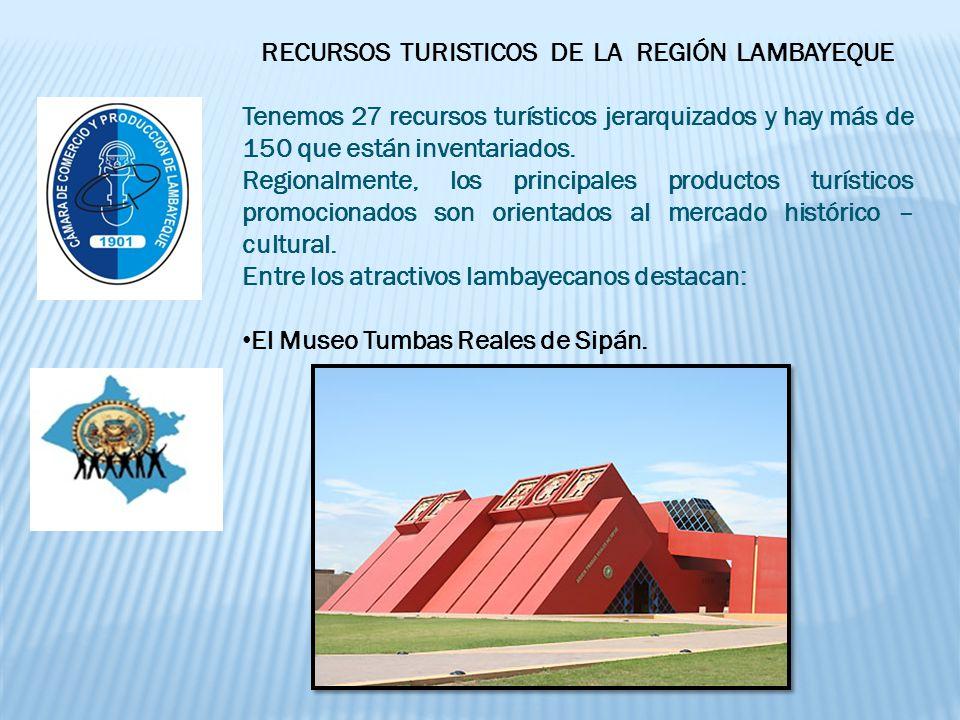 RECURSOS TURISTICOS DE LA REGIÓN LAMBAYEQUE