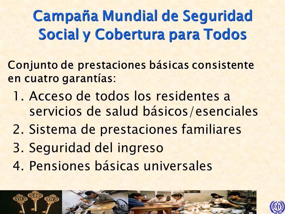 Campaña Mundial de Seguridad Social y Cobertura para Todos