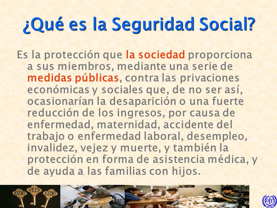 ¿Qué es la Seguridad Social