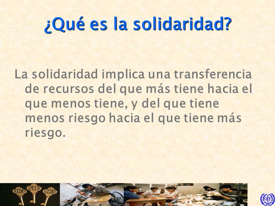 ¿Qué es la solidaridad