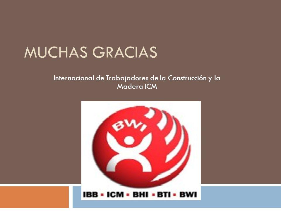 Internacional de Trabajadores de la Construcción y la Madera ICM