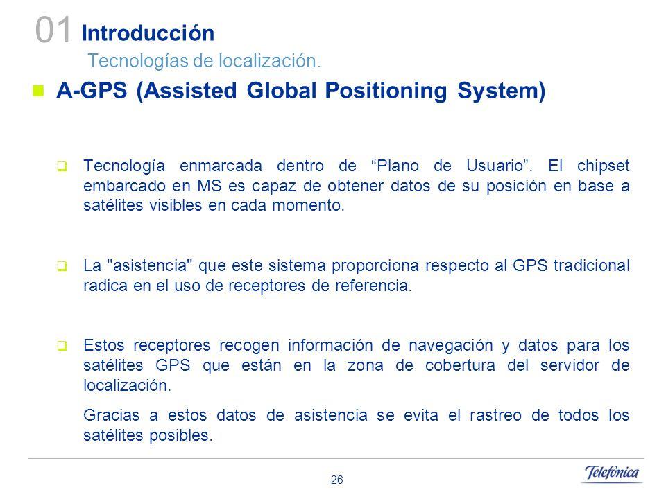 Introducción Tecnologías de localización.