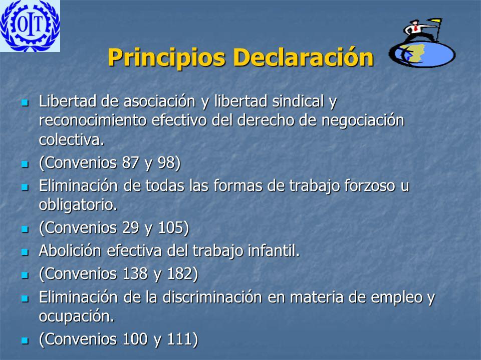 Principios Declaración