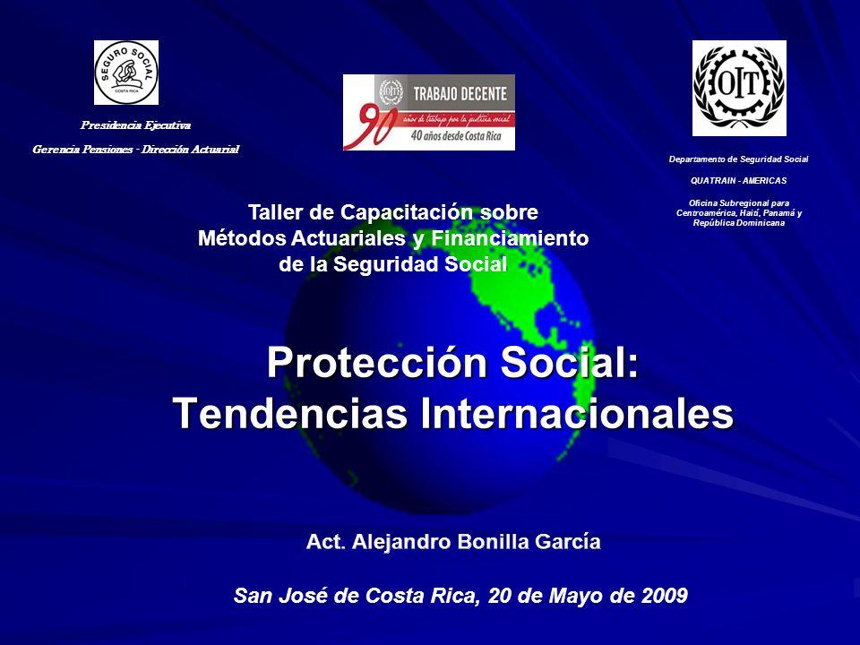 Protección Social: Tendencias Internacionales