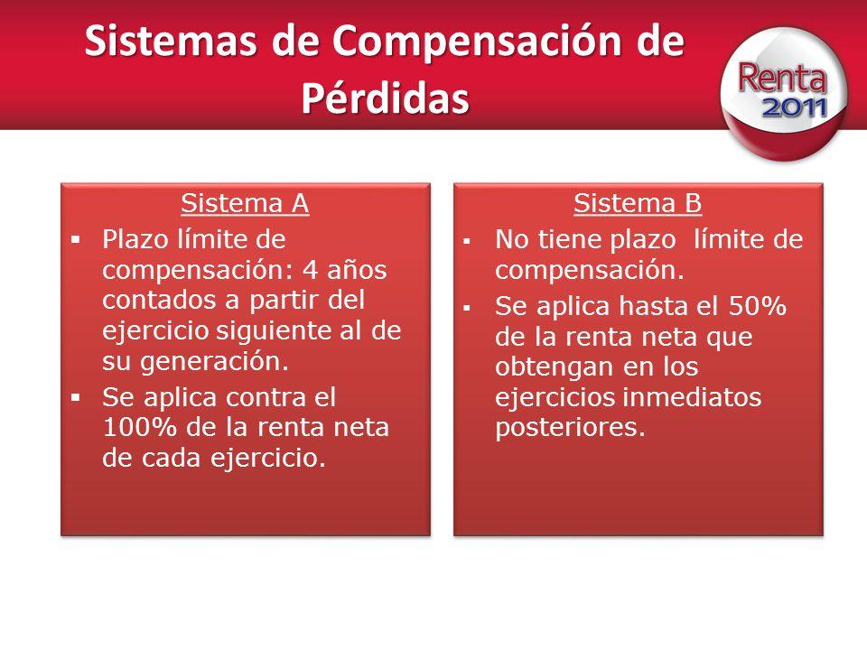 Sistemas de Compensación de Pérdidas