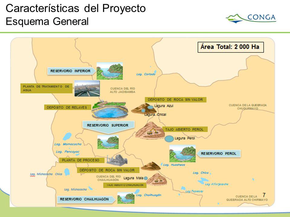 Características del Proyecto Esquema General