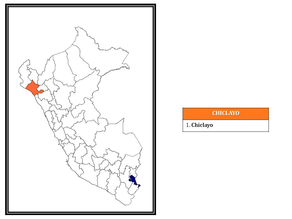 CHICLAYO 1. Chiclayo