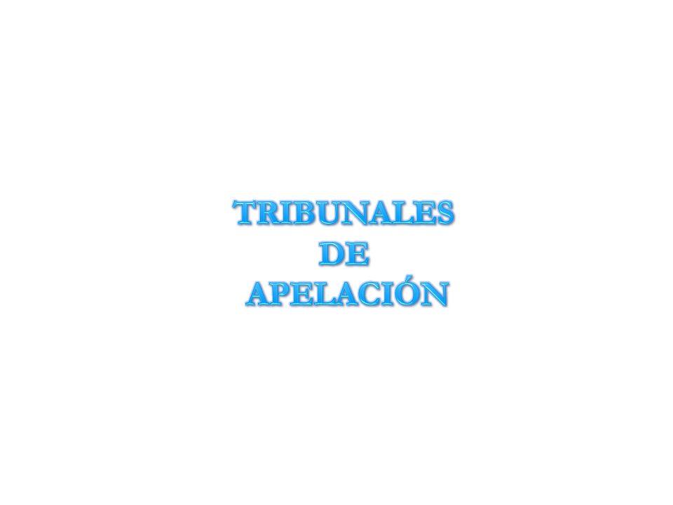 TRIBUNALES DE APELACIÓN