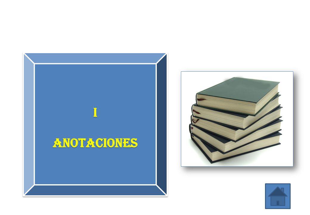 I ANotaciones