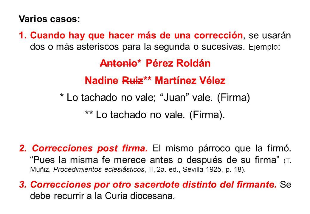 Nadine Ruiz** Martínez Vélez