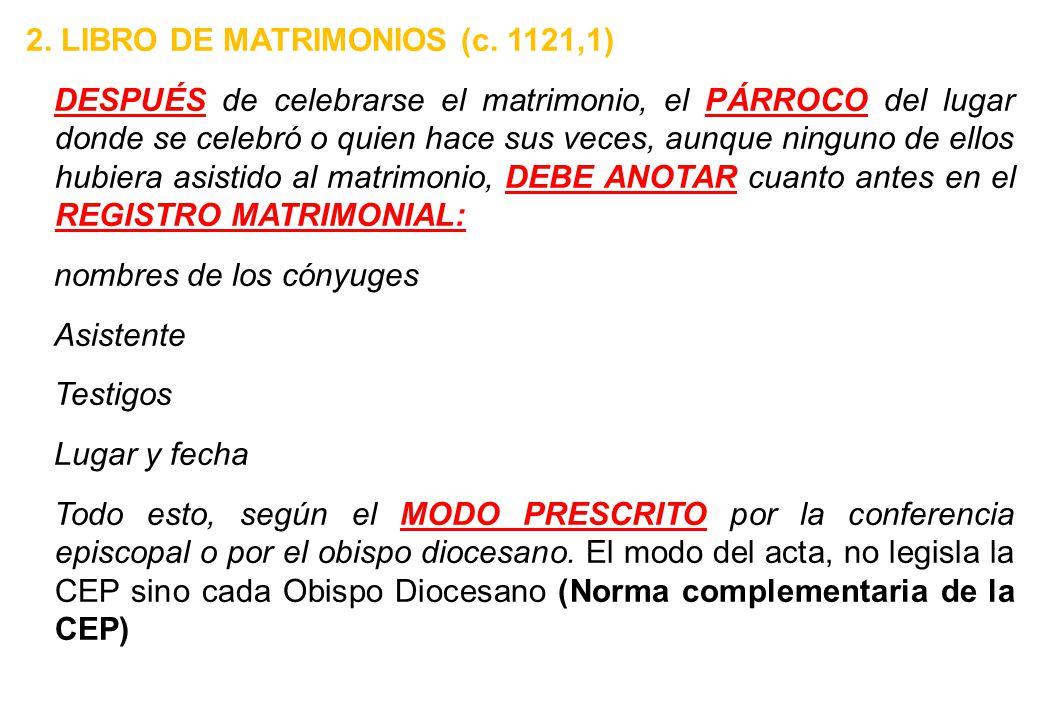 2. LIBRO DE MATRIMONIOS (c
