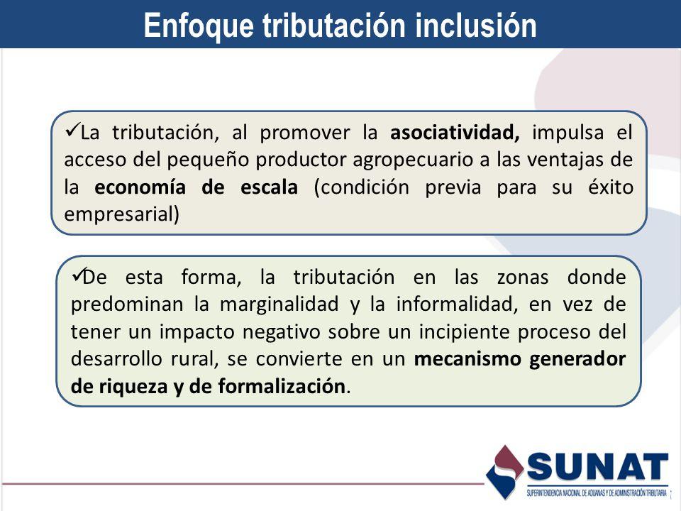 Enfoque tributación inclusión