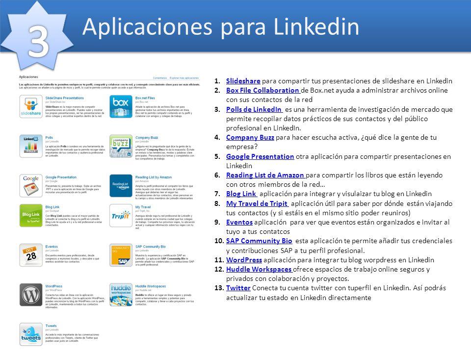 Aplicaciones para Linkedin