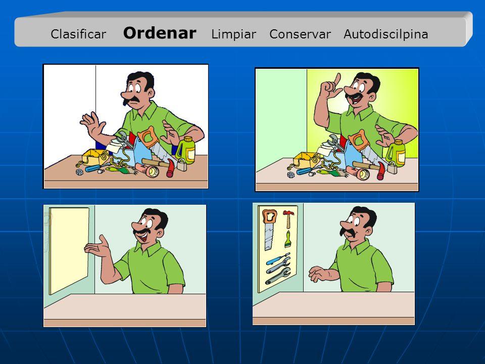 Clasificar Ordenar Limpiar Conservar Autodiscilpina