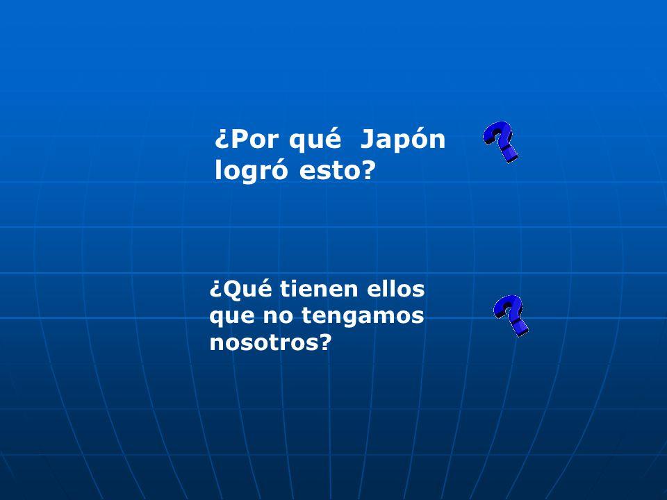 ¿Por qué Japón logró esto